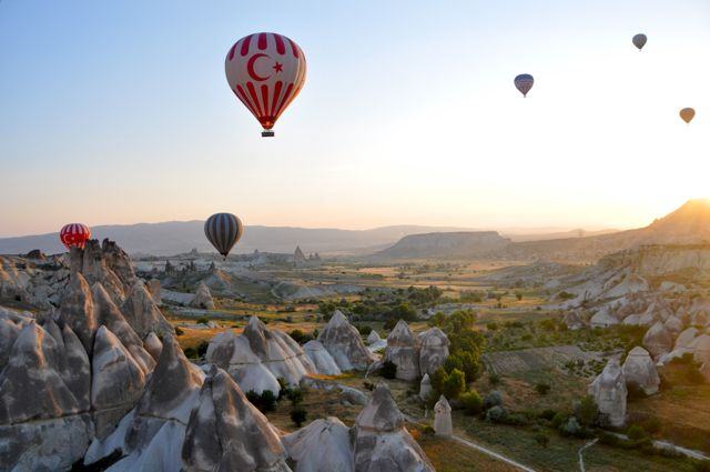 Hot air balloon Cappadocia, Turkey