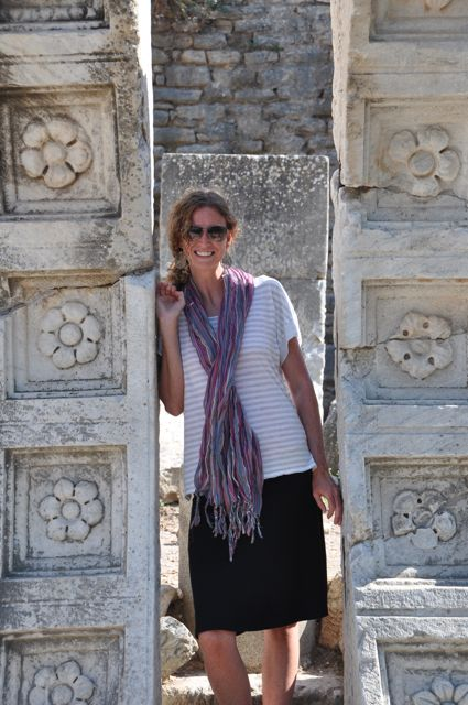 Kelly Wetherington in Ephesus
